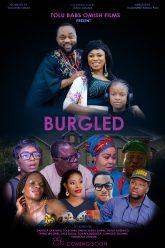Burgled Poster co